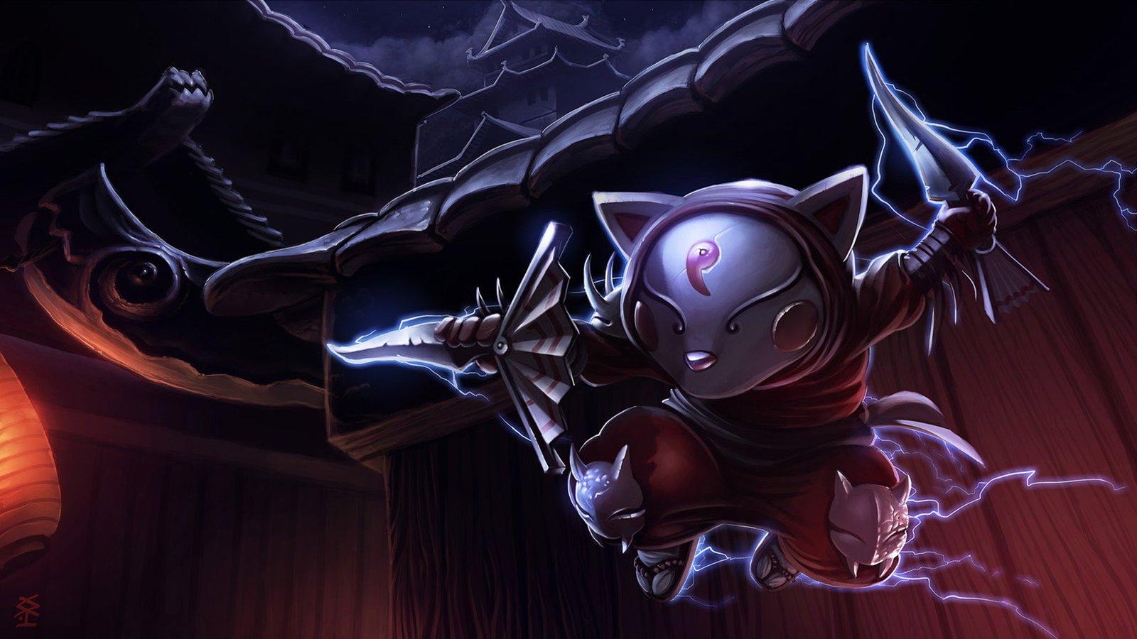 Blood Moon Kennen League Of Legends Wallpaper HD 1920x1080