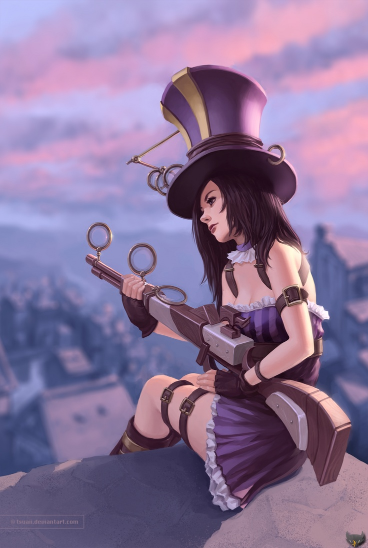 Caitlyn League Of Legends Fan Art 1