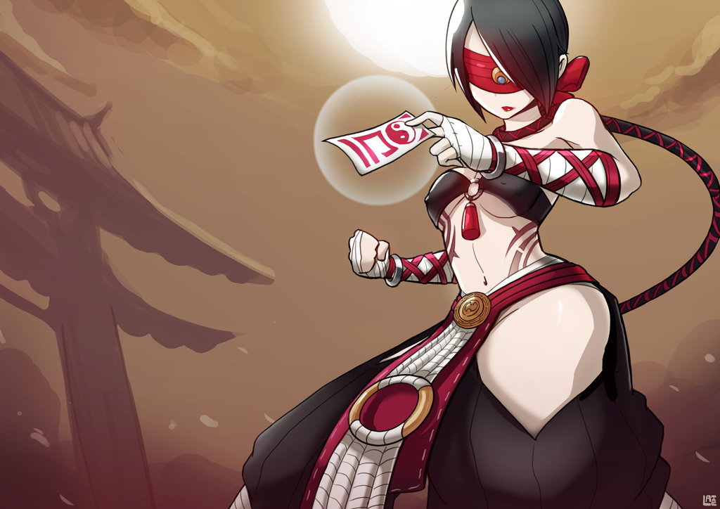 Female Lee Sin League Of Legends Fan Art