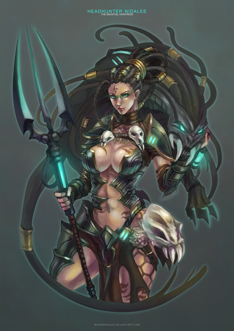 Headhunter Nidalee League Of Legends Fan Art