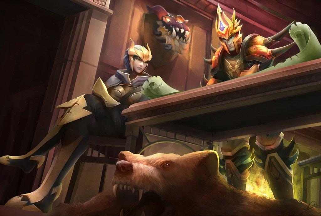 Jarvan IV and Quinn League Of Legends Fan Art League Of ...