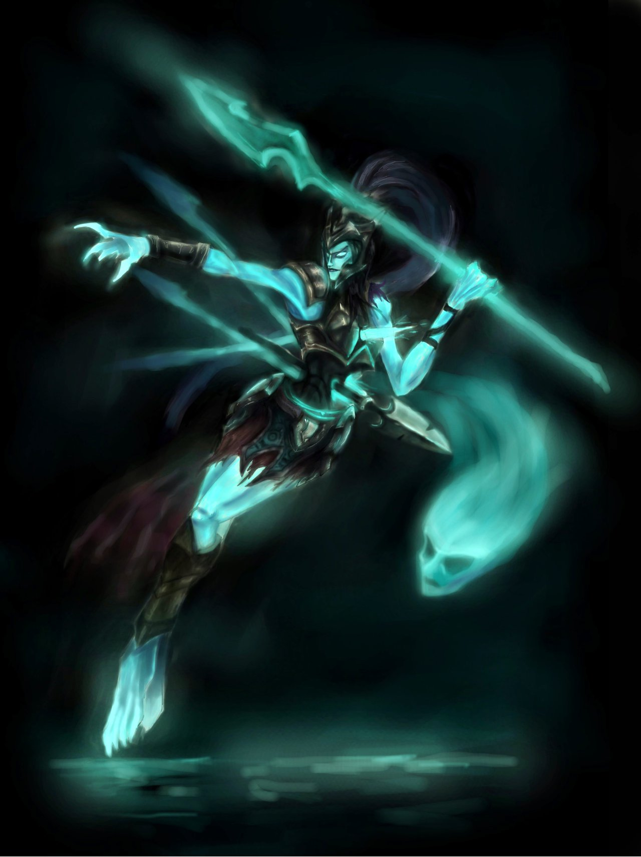 Kalista League Of Legends Fan Art 1