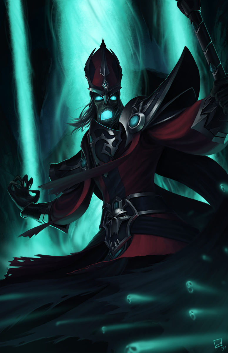 Karthus League Of Legends Fan Art 2 League Of Legends Fan