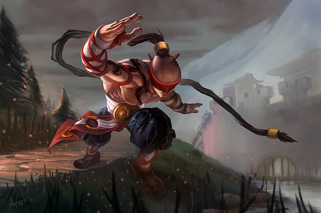 Lee Sin League Of Legends Fan Art 1
