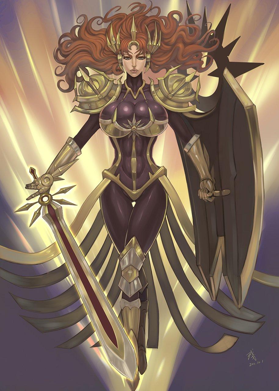 Leona League Of Legends Fan Art 1