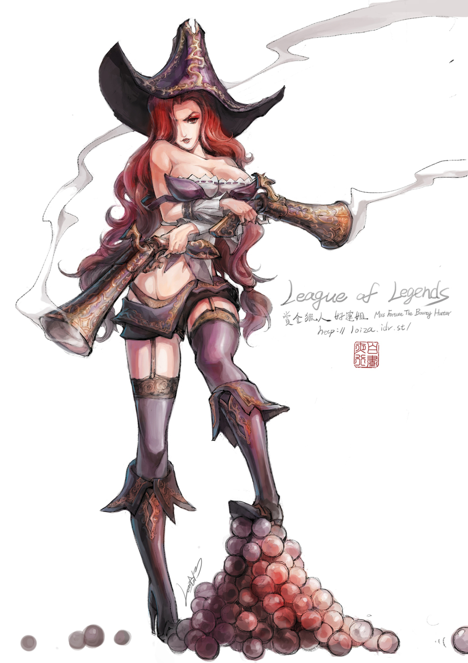 Miss Fortune League Of Legends Fan Art 1