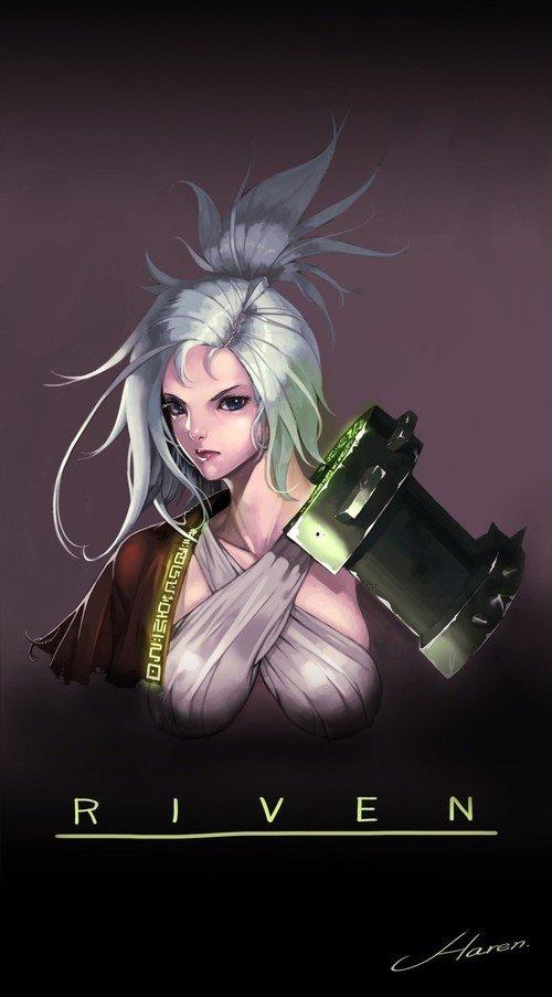 Riven League Of Legends Fan Art 2