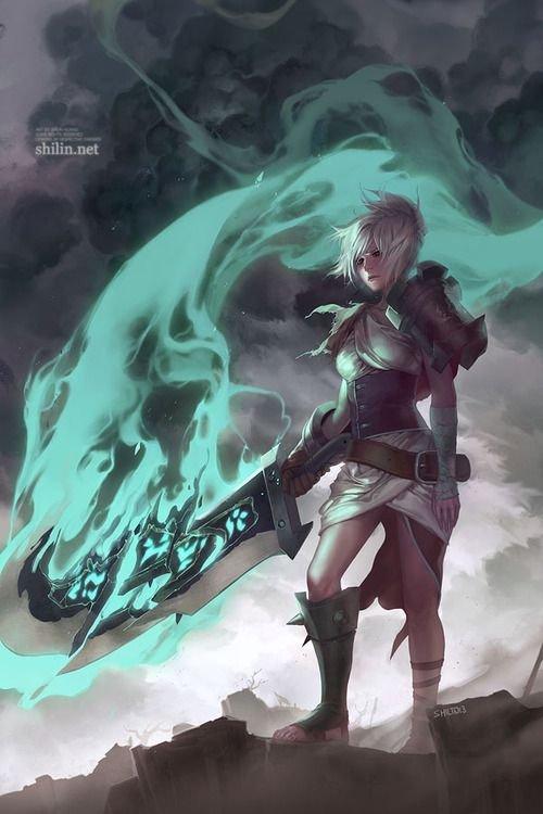 Riven League Of Legends Fan Art 3