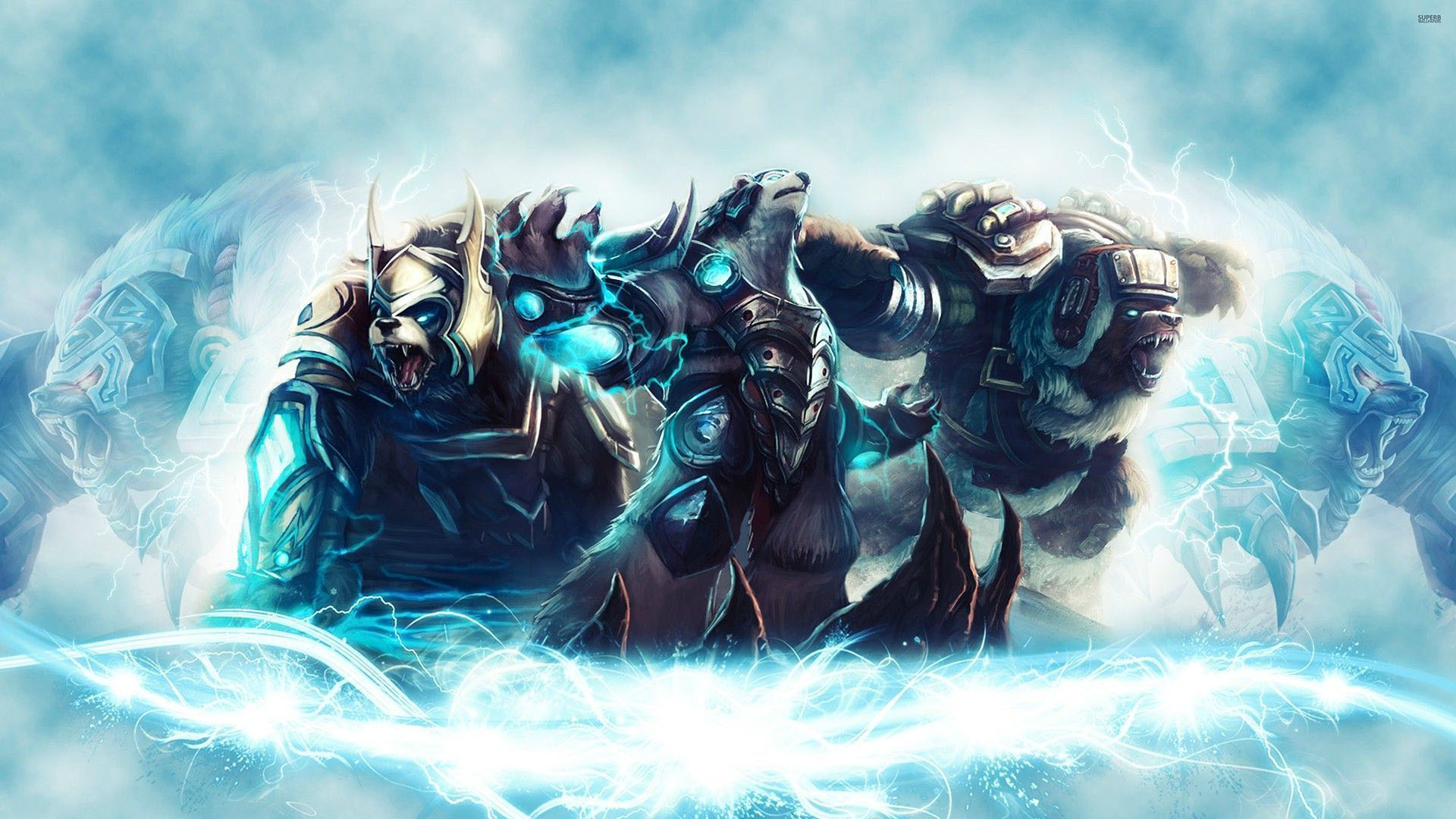 Volibear League Of Legends Wallpaprer HD 1920x1080