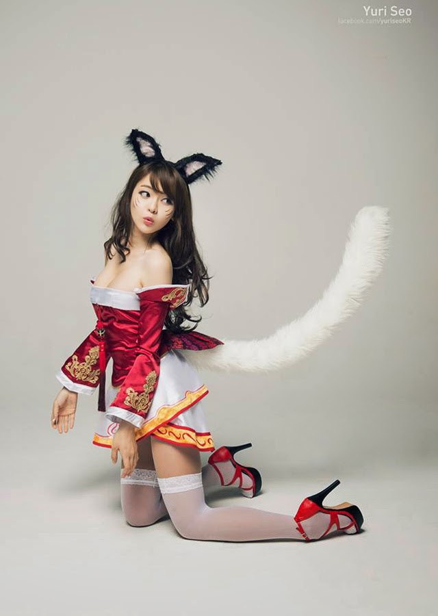 Ahri League Of Legends Cosplay