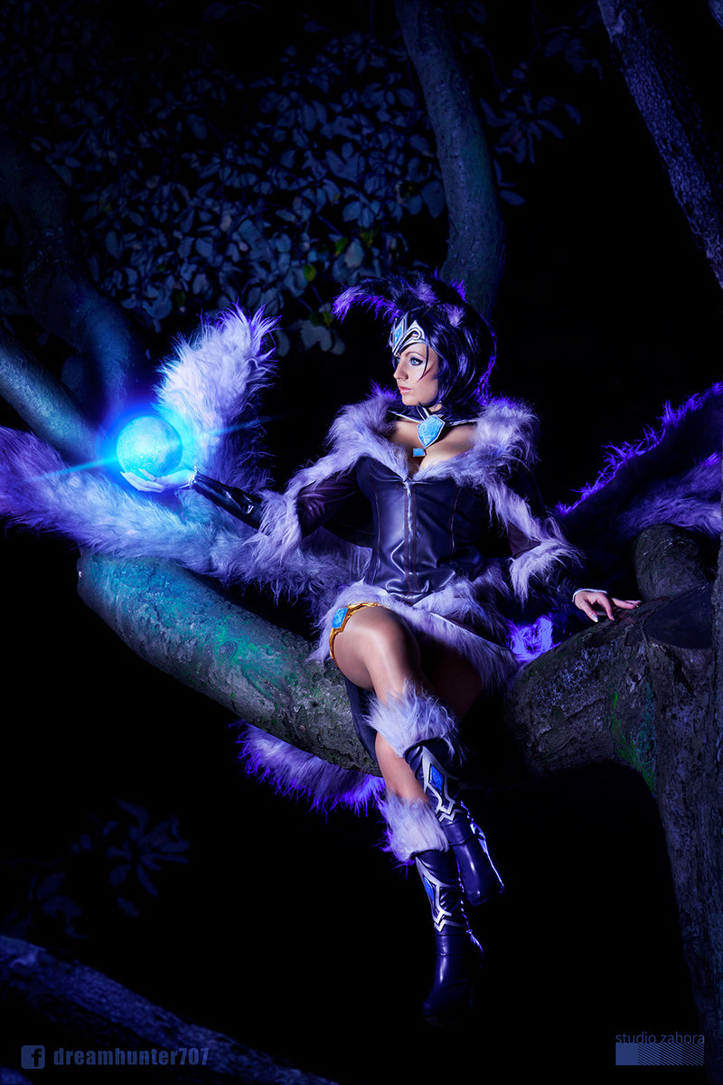 Midnight Ahri League Of Legends Cosplay by dreamhunter707 3