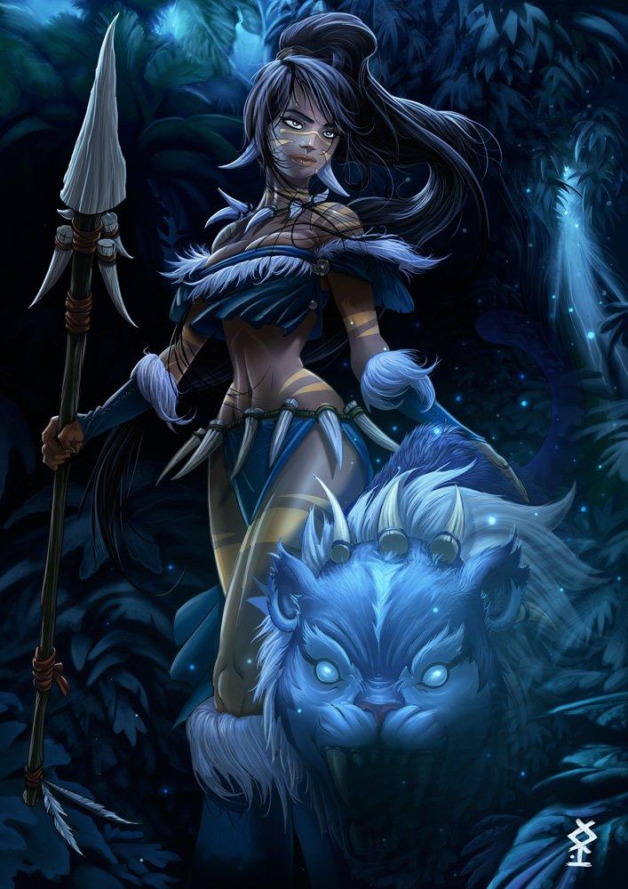 Nidalee League Of Legends Fan Art 2