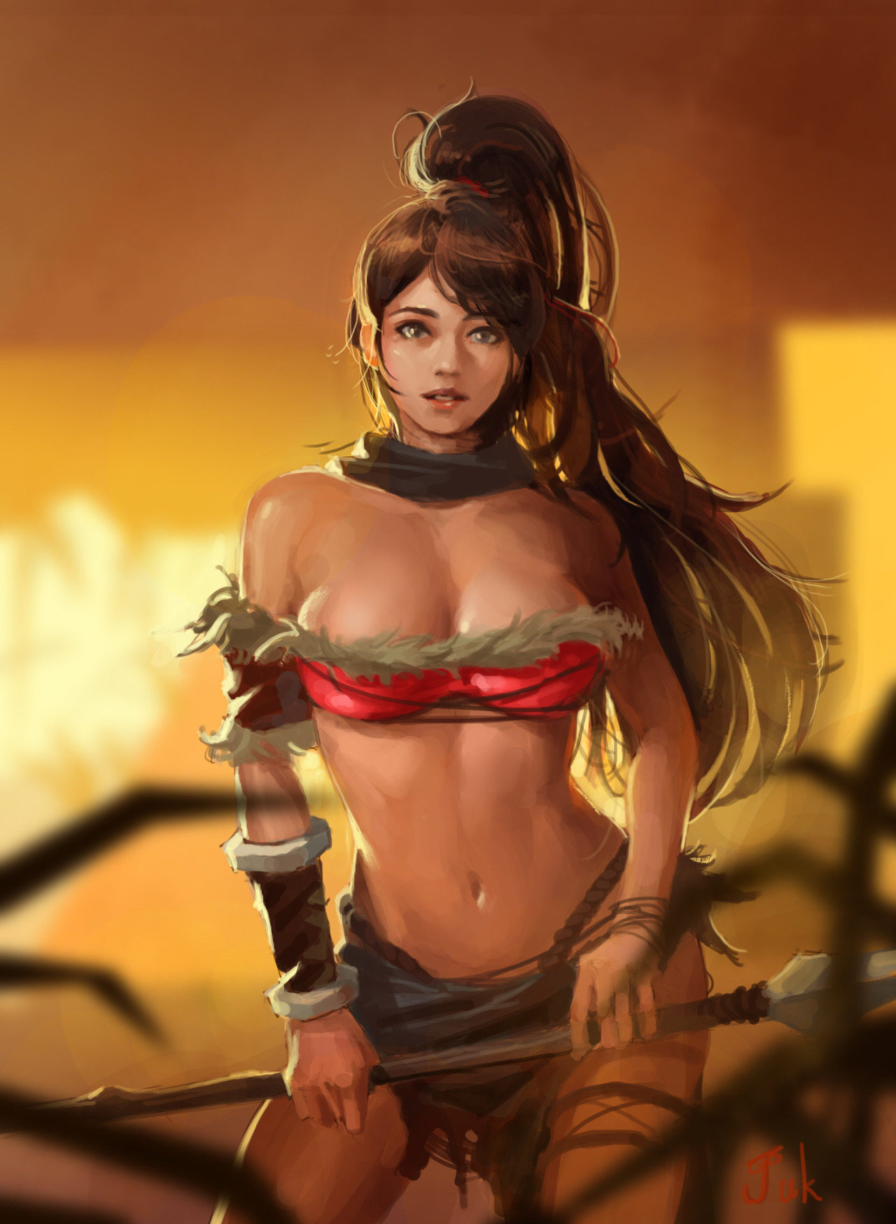 Nidalee League Of Legends Fan Art 3