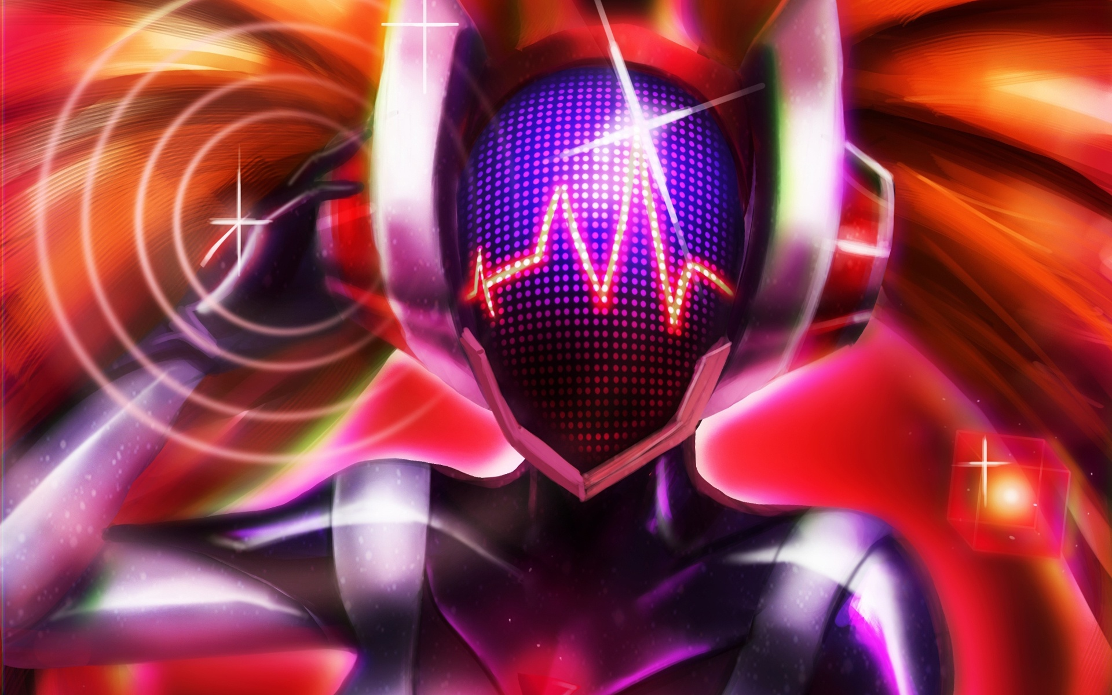 DJ Sona Concussive League Of Legends Wallpaper HD 1920x1080