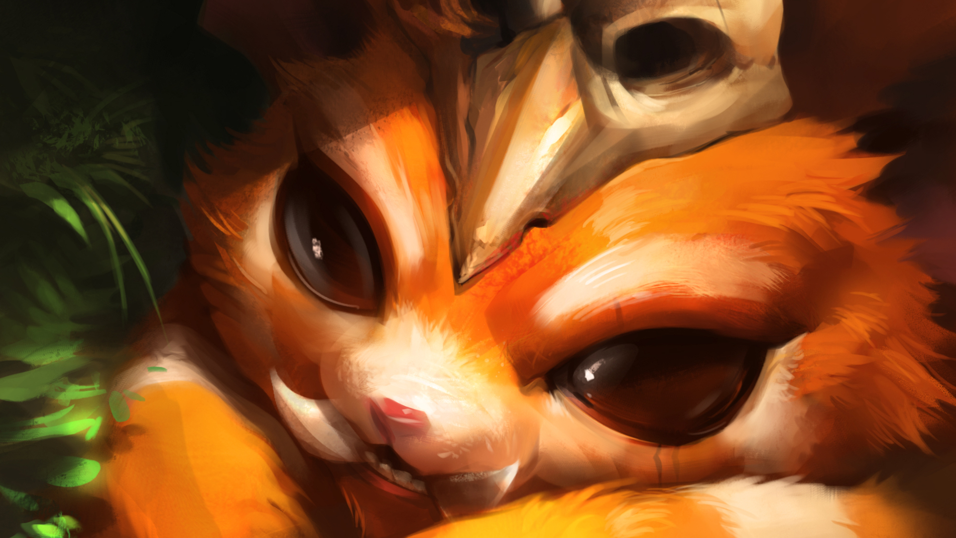 Gentleman Gnar'-s monocle is on the wrong eye : leagueoflegends