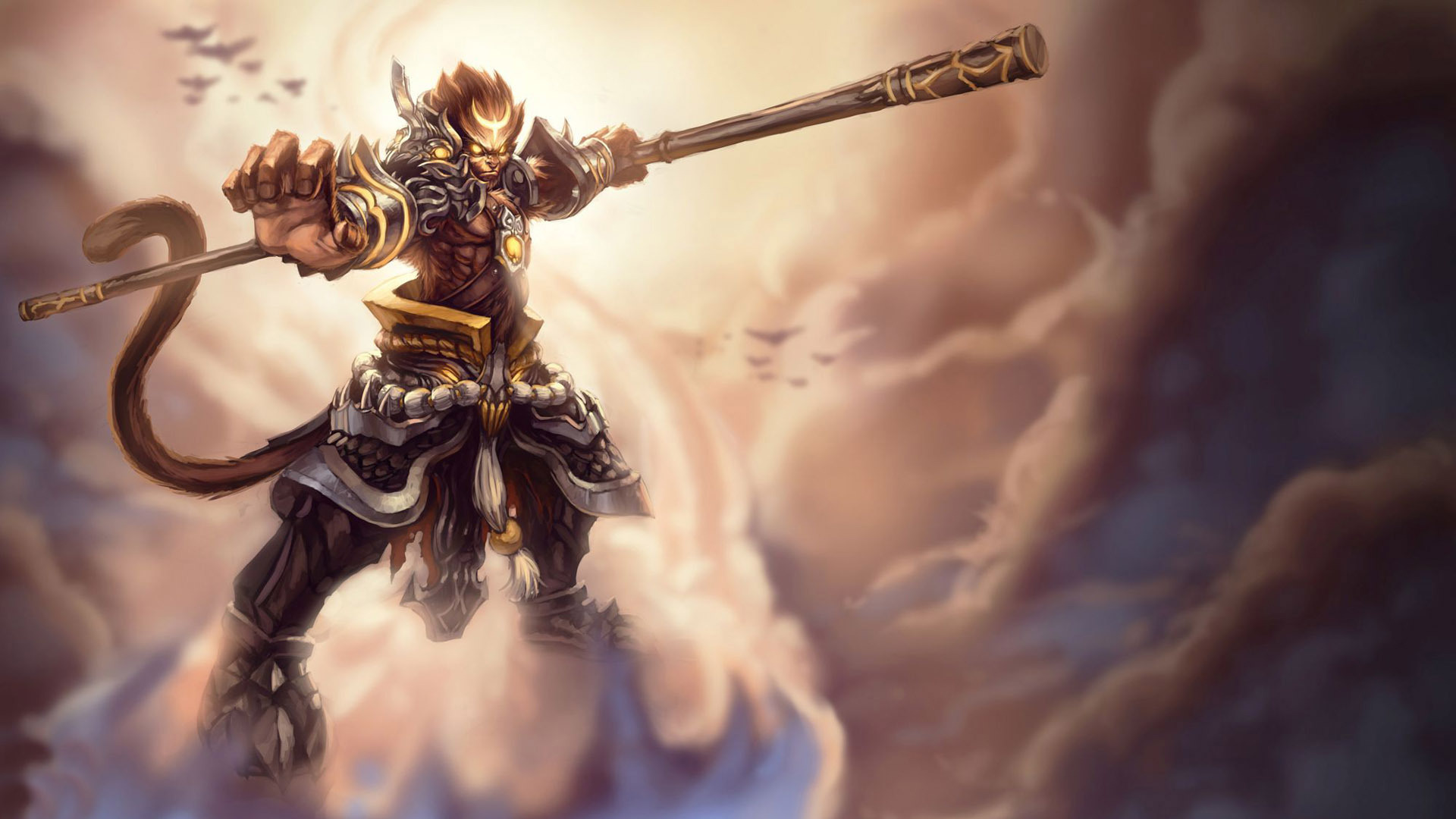 Wukong League Of Legends Wallpaper HD 1920x1080 1