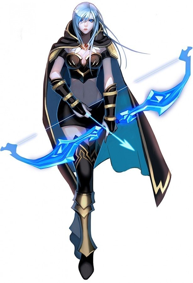 Ashe League Of Legends Costume