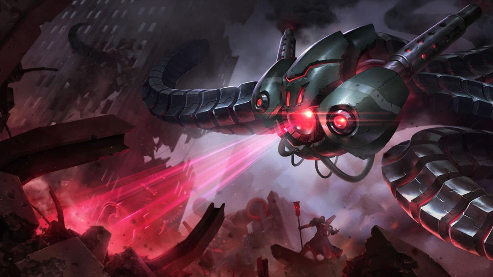 Battlecast Velkoz League Of Legends Wallpaper HD 1920x1080