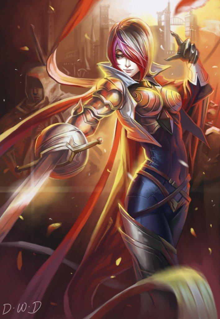 Fiora League Of Legends Fan-Art | Art-of-LoL