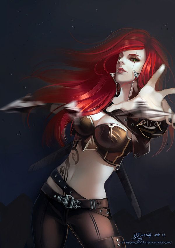 Katarina League Of Legends Fan Art 4
