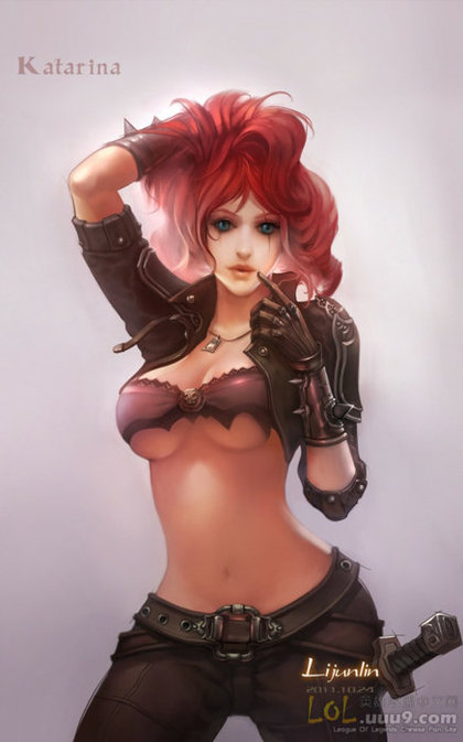 Katarina League Of Legends Fan Art 5