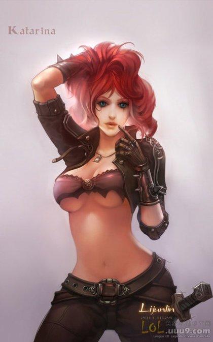Katarina League Of Legends Fan Art 5