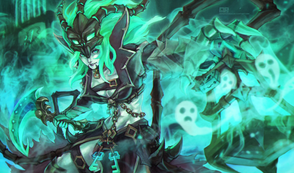 Thresh League Of Legends Fan Art 2
