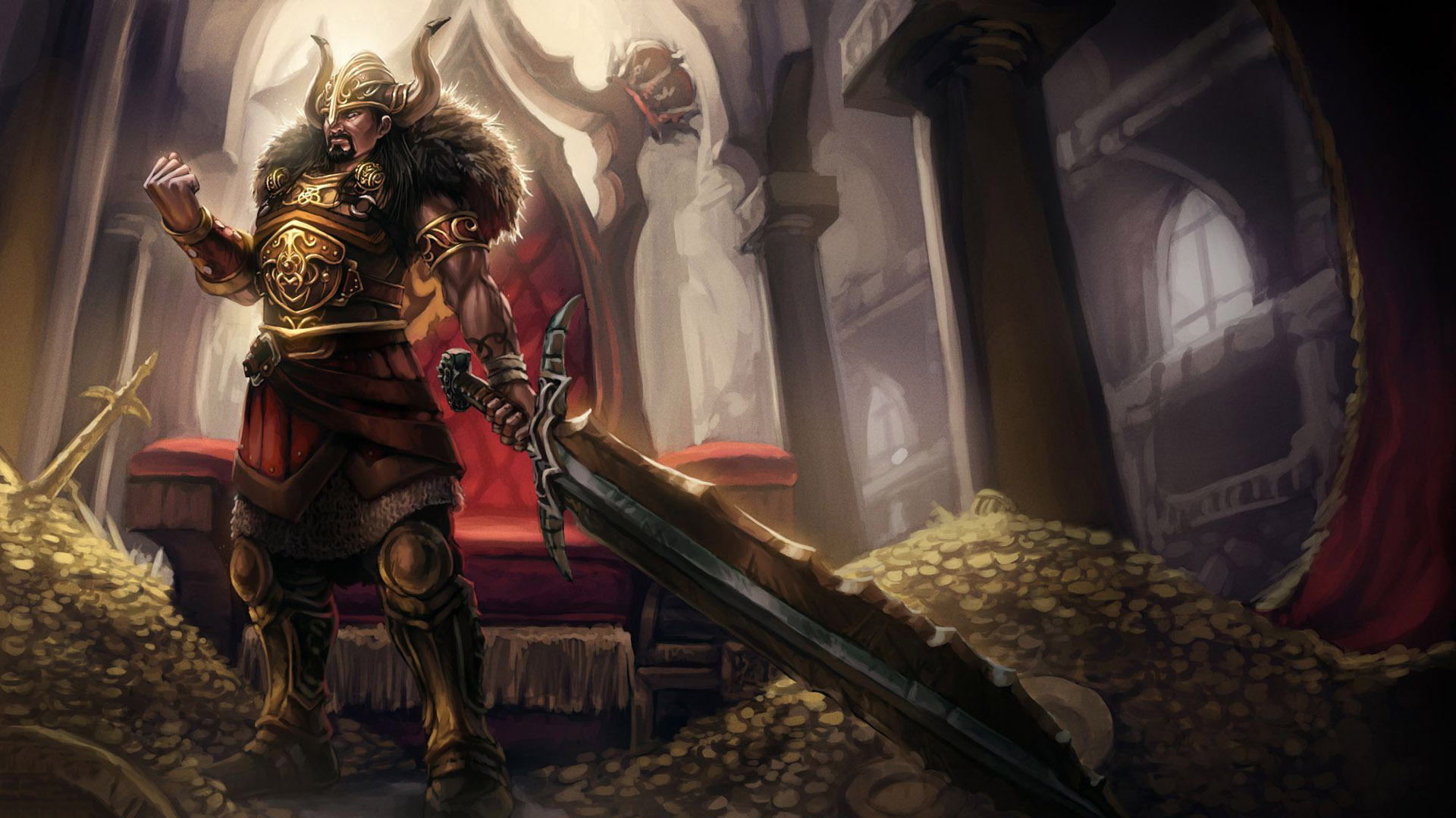 Tryndamere League Of Legends wallpapers 1