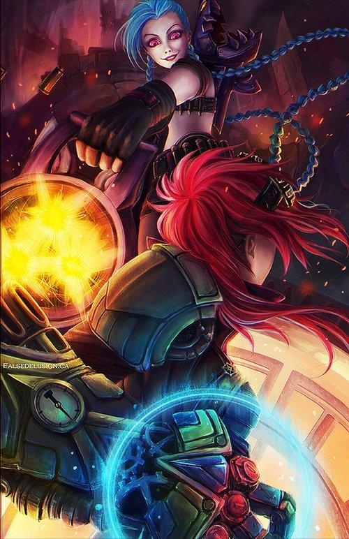 Vi League Of Legends Fan Art 3