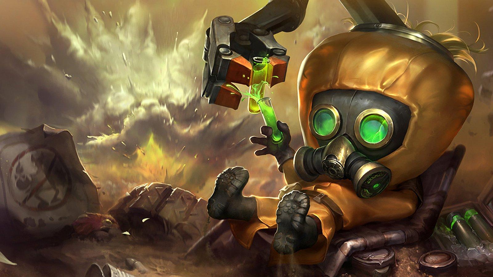 hazmat-heimerdinger-League Of Legends Fan Art 1