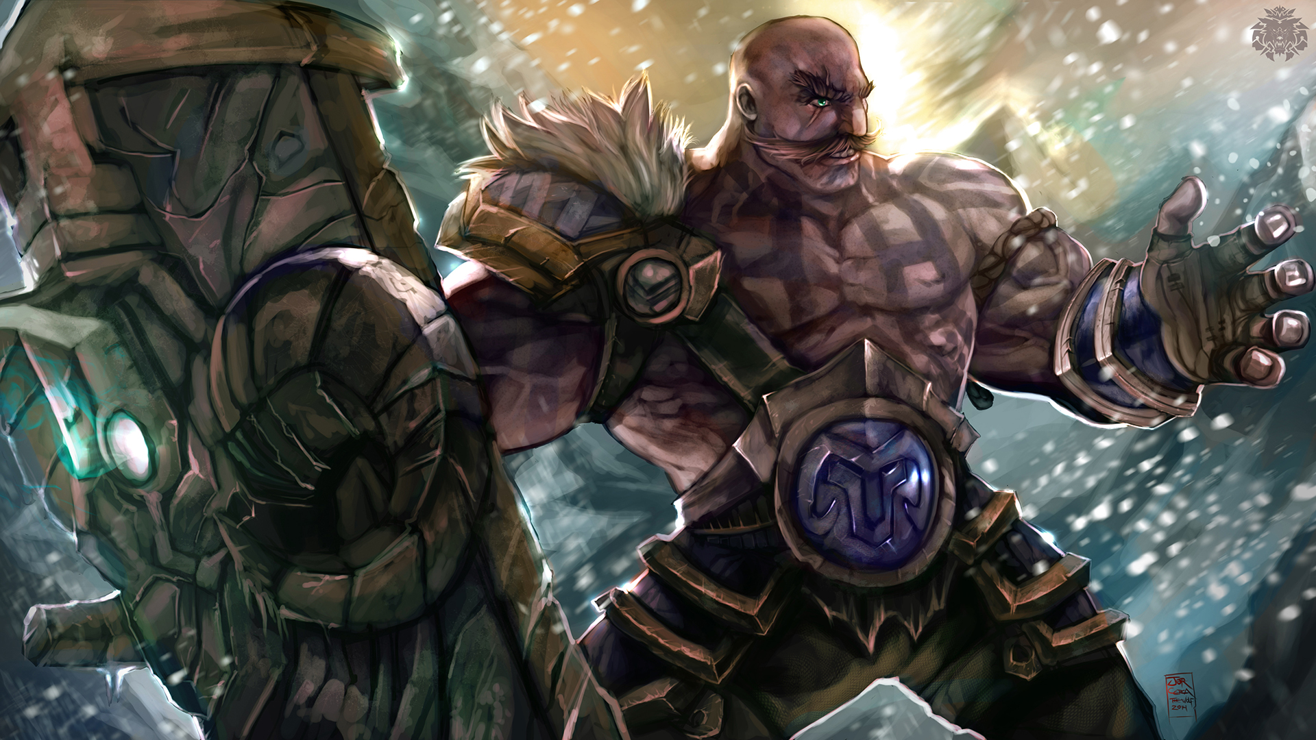 Braum League Of Legends Wallpapers HD 1920×1080 2
