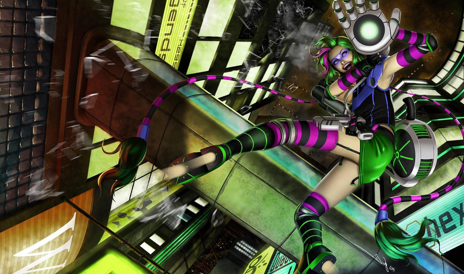 Cyberpunk Jinx