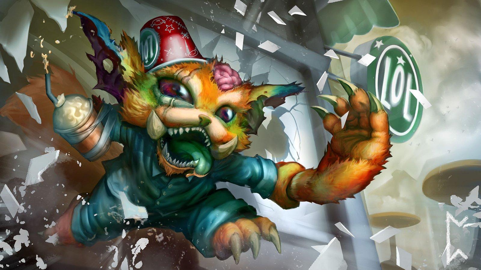 League of Legends - Prezentacja Skorki - Gnar Dzentelmen - YouTube