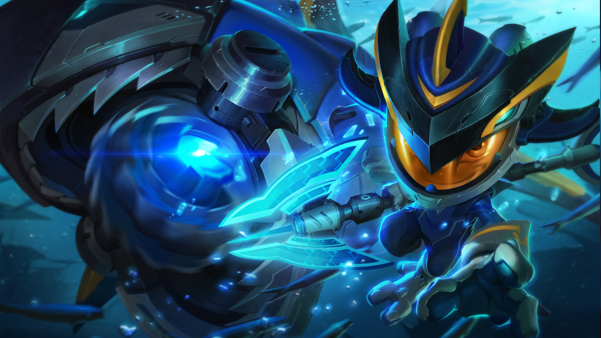 Super Galaxy Fizz League Of Legends Wallpaper HD 1920x1080