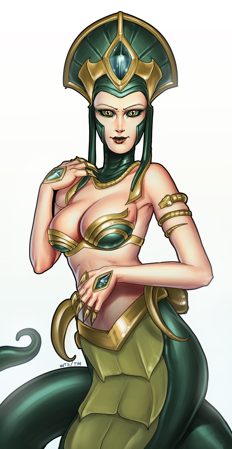 Cassiopeia League Of Legends Fanart 1 League Of Legends Fan Art