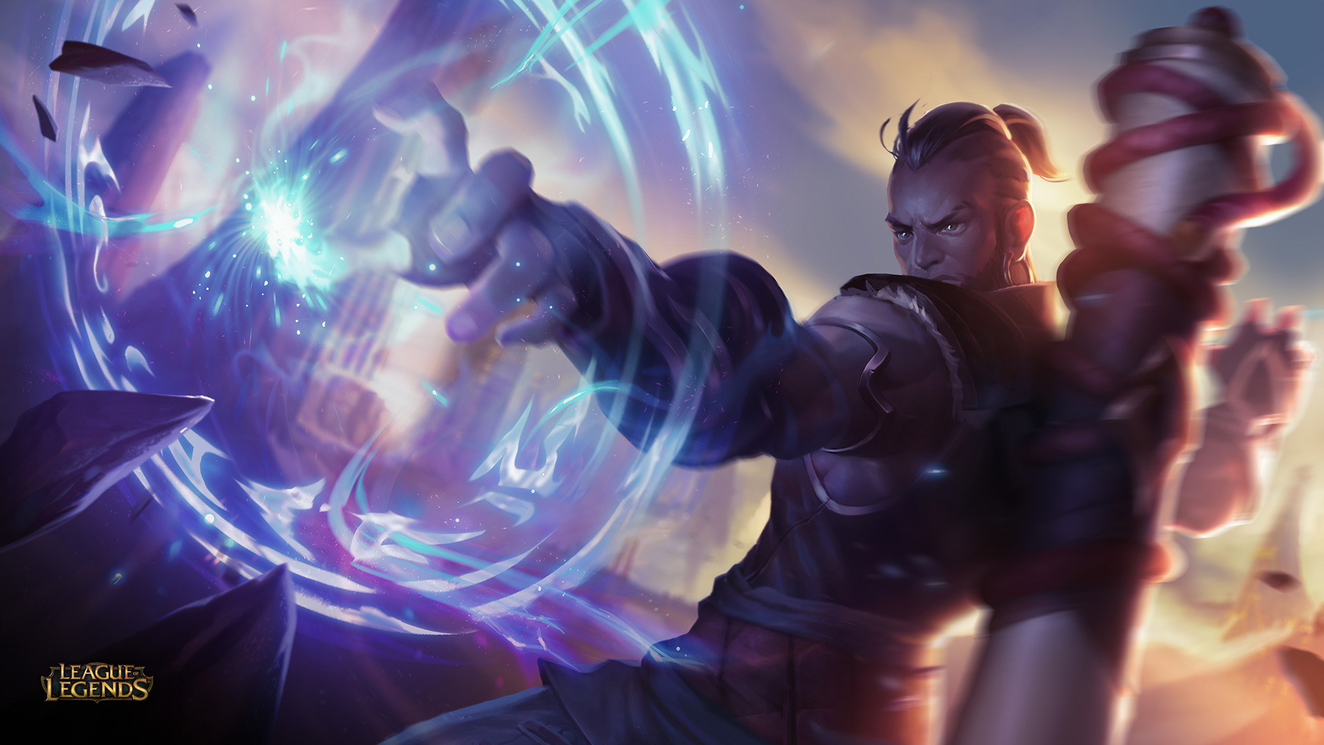 Human Ryze League Of Legends Wallpaper HD | Art-of-LoL Orianna Splash Art