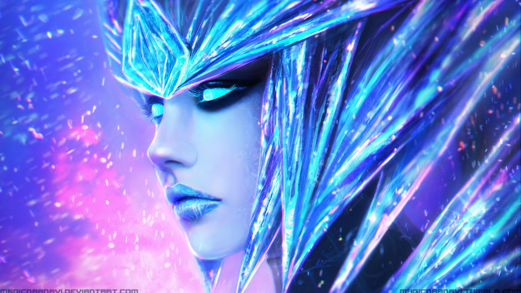 Sejuani Portrait: Ice Drake Shyvana League Of Legends Wallpaper League Of