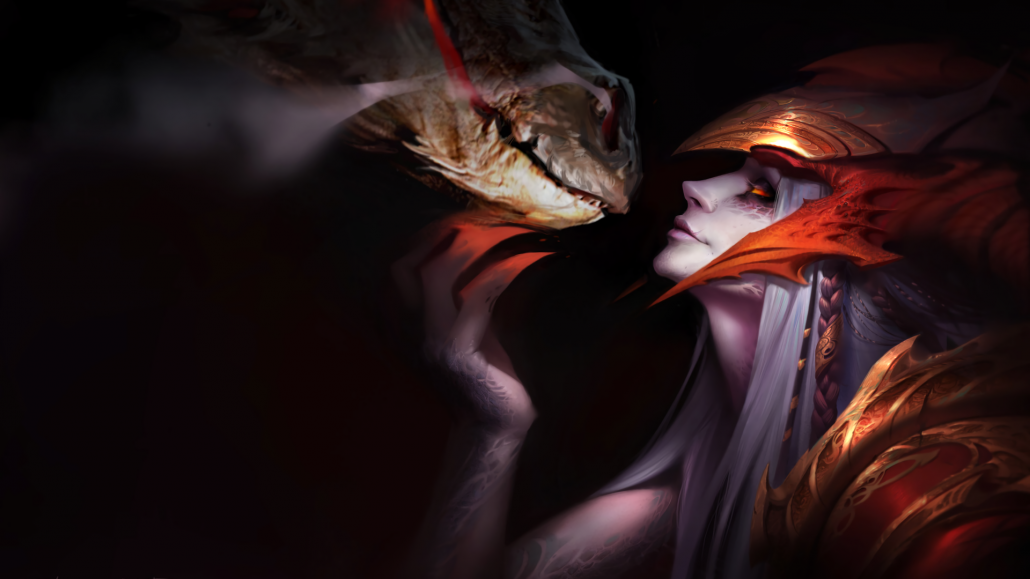 Shyvana League Of Legends Wallpaper 1920 215 1080 League Of