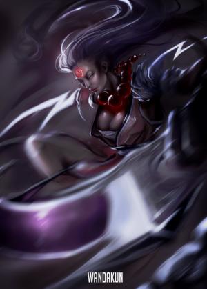 Blood Moon Diana