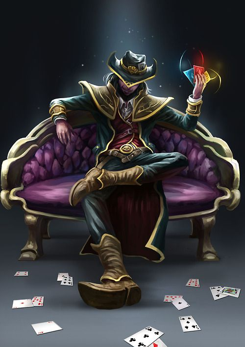 Twisted Fate League Of Legends Fan Art Art Of LoL