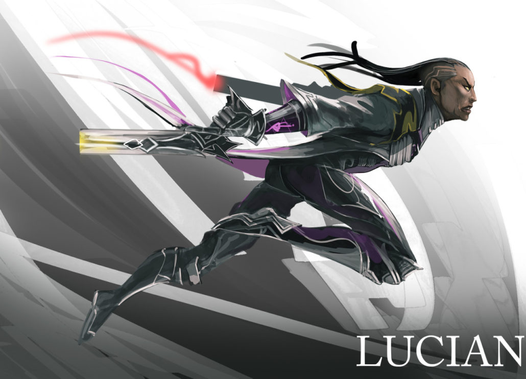 lucian league of legends fanart artoflol