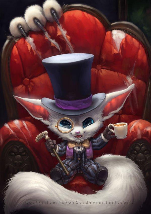 Gentleman Gnar League Of Legends Fan-Art | Art-of-LoL