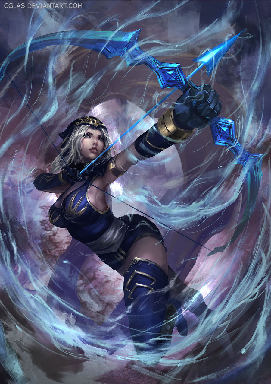 Ashe League Of Legends Fan-Art | Art-of-LoL