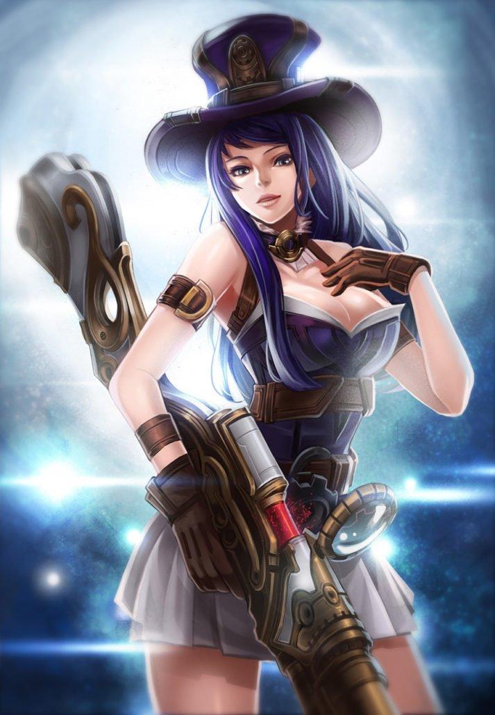 Caitlyn League Of Legends Fan Art Art Of Lol
