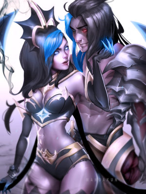 Shadow Evelynn and Kayn