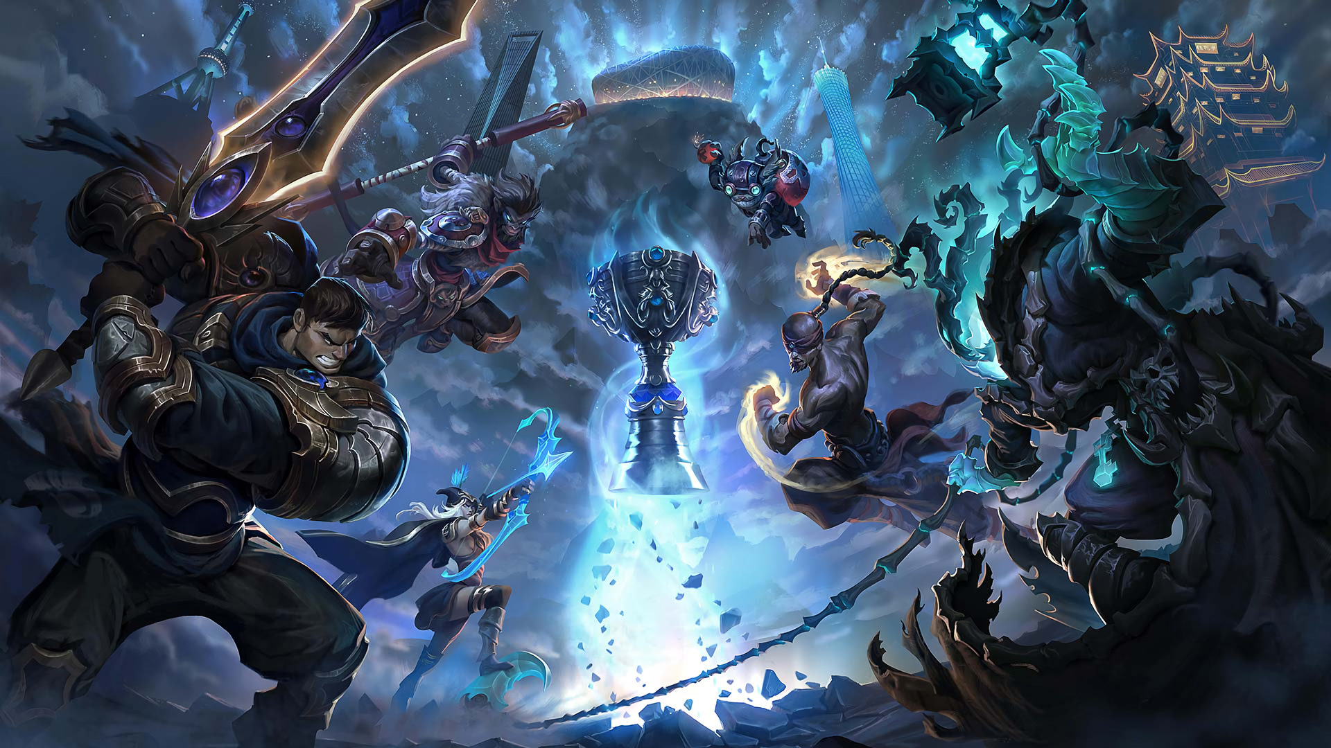 Worlds 2017 Promo Wallpapers League Of Legends