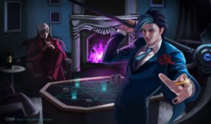 Debonair Kayn and Debonair Zed