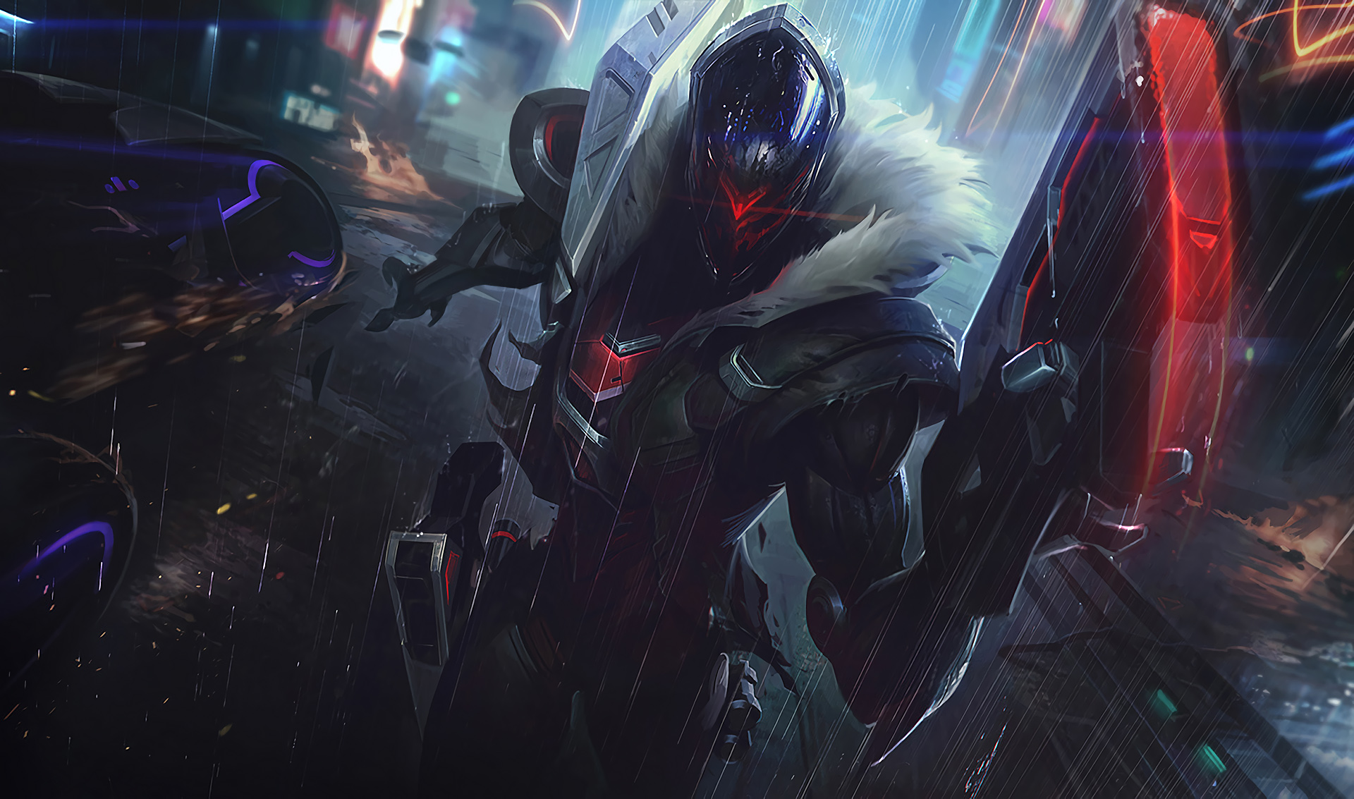 Hd Wallpapers Artworks For League Of: PROJECT Jhin Splash League Of Legends Wallpapers