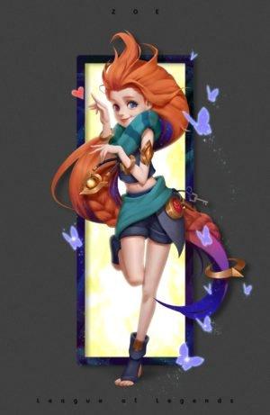Zoe by xienan